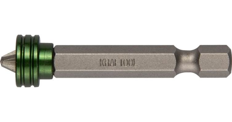 Бита Kraftool expert для саморезов ПШ 50 , мм магнитная