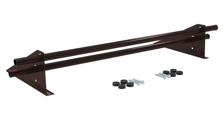 Снегозадержатель трубчатый универсальный Optima RAL 8017 1м