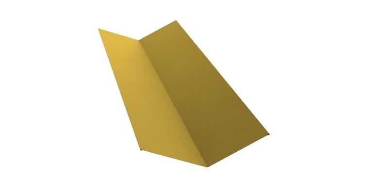 Планка ендовы верхней 145х145 0,45 PE с пленкой RAL 1018