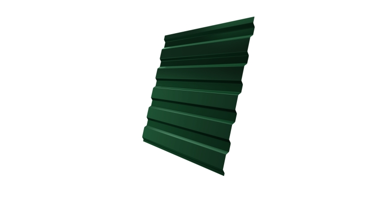 Профнастил С20А 0,45 PE RAL 6005 зеленый мох