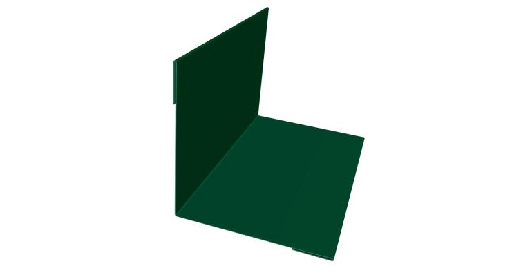 Планка угла внутреннего 110х110 0,7 PE с пленкой RAL 6005 зеленый мох