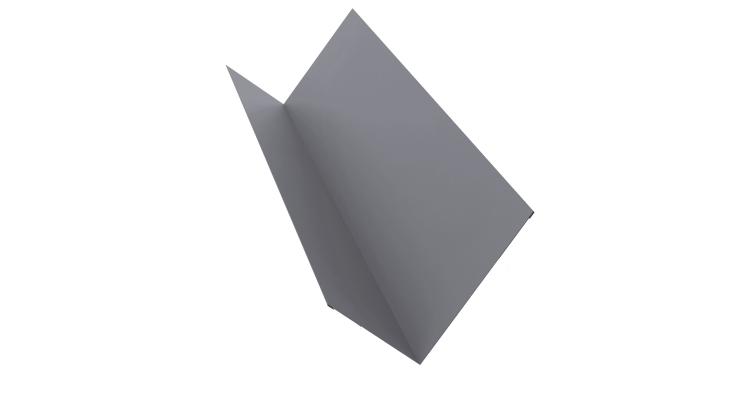 Планка примыкания 150х250 0,5 Satin с пленкой RAL 7004
