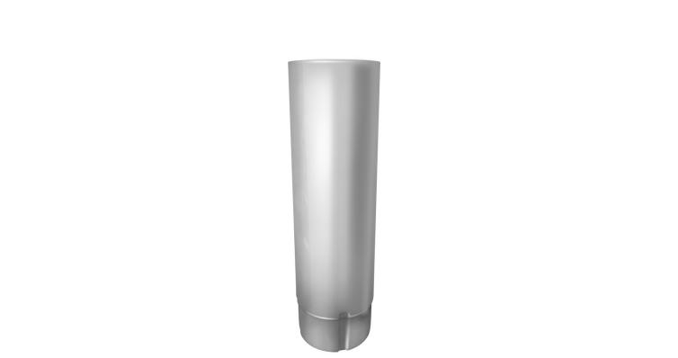 Труба круглая,90 мм 3 м RAL 9003