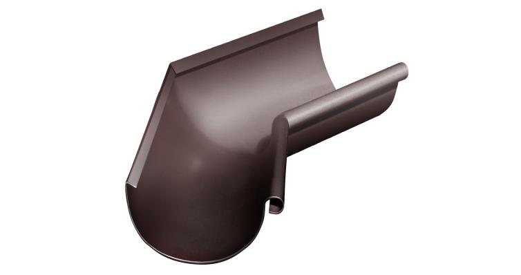 Угол желоба внутренний, 135 гр,150 мм RAL 8017