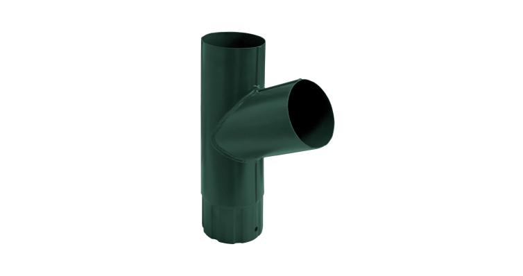 Тройник трубы,90 мм RAL 6005