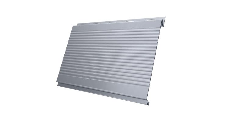 Вертикаль 0,2 gofr 0,45 PE с пленкой RAL 9006