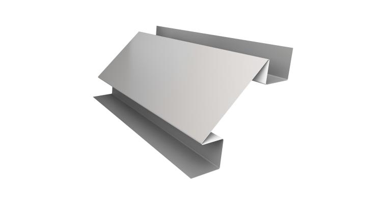Планка угла внутреннего сложного Экобрус 0,5 Satin с пленкой RAL 9003