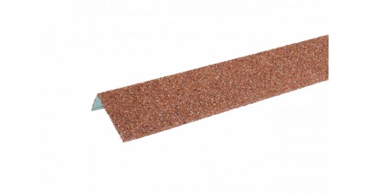 ТЕХНОНИКОЛЬ HAUBERK наличник оконный металлический красный