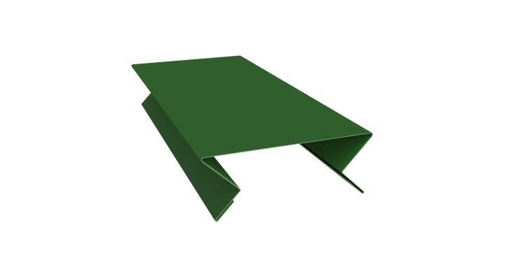 Планка угла внутреннего составная верхняя 0,45 PE с пленкой RAL 6002