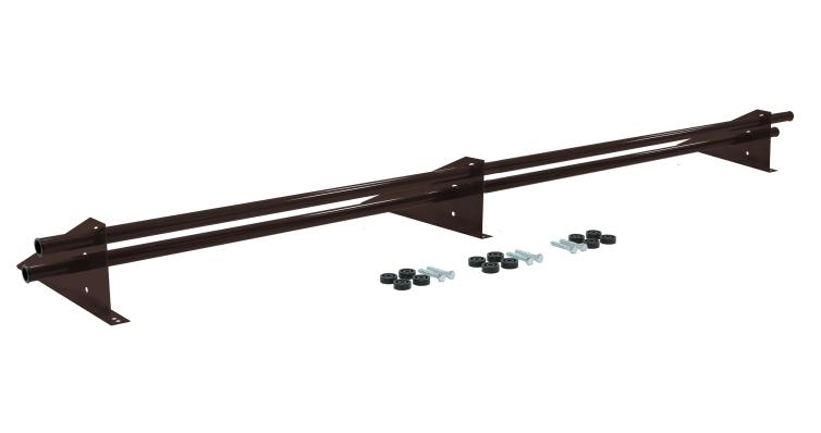 Снегозадержатель трубчатый универсальный Optima RAL 8017 3м