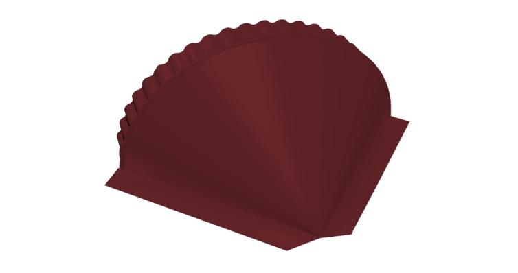 Заглушка малая конусная Velur20 RAL 3005 красное вино
