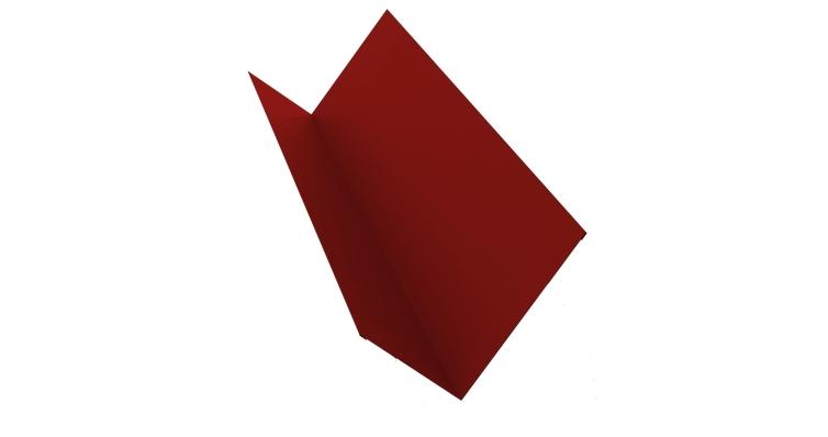 Планка примыкания 150х250 0,5 Satin с пленкой RAL 3011