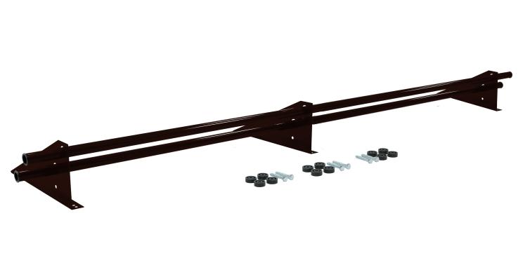 Снегозадержатель трубчатый универсальный Optima RAL 8019 3м
