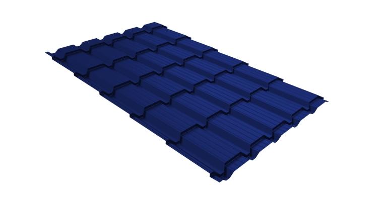 Металлочерепица квадро 0,45 PE RAL 5002