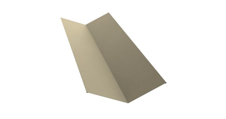 Планка ендовы верхней 145х145 0,45 PE с пленкой RAL 1015