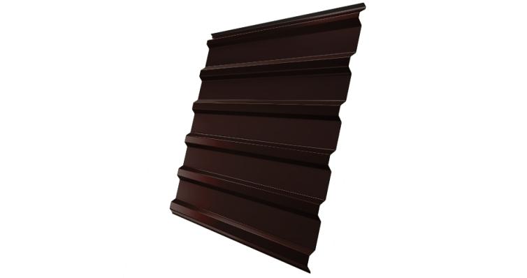 Профнастил С20R 0,4 PE RAL 8017 шоколад
