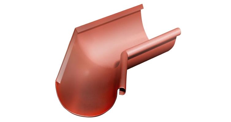 Угол желоба внутренний, 135 гр,125 мм RAL 8004