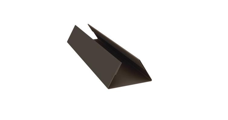 Планка стыковочная составная нижняя 0,5 Quarzit lite с пленкой RR 32
