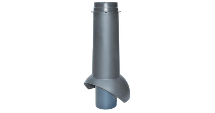 Выход канализации Krovent Pipe-VT 110 серый
