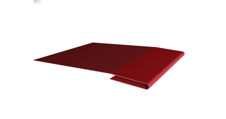 Планка начальная 0,45 PE с пленкой RAL 3003 рубиново-красный