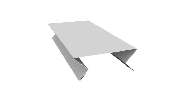 Планка угла внутреннего составная верхняя 0,45 PE с пленкой RAL 9003