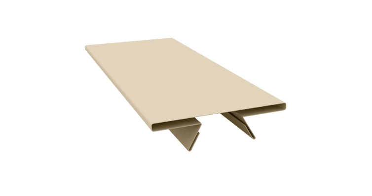 Планка стыковочная составная верхняя 0,5 Satin с пленкой RAL 1015