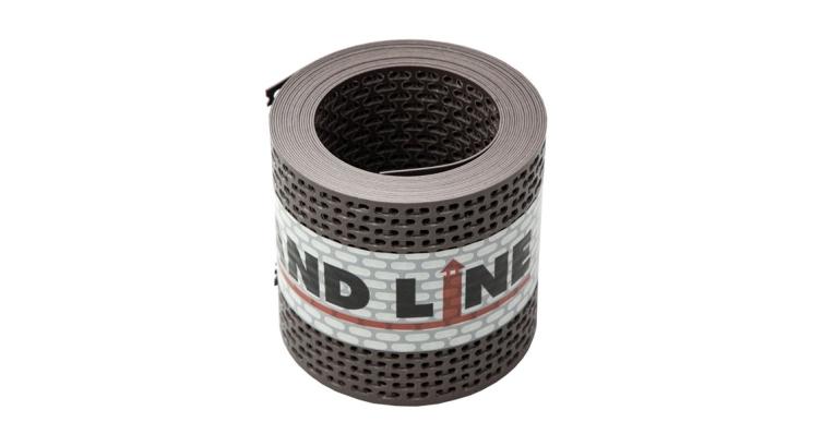 Лента вентиляционная ПВХ GRAND LINE коричневая 100х5000