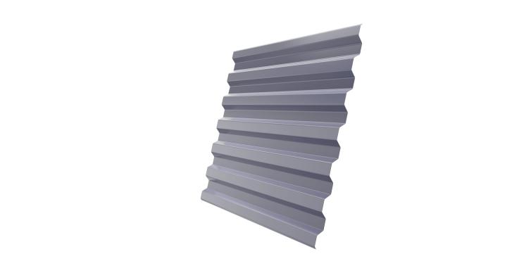 Профнастил С21R 0,7 PE RAL 7004 сигнальный серый