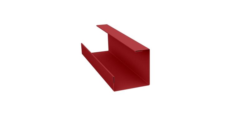 Планка угла внутреннего составная нижняя 0,45 PE с пленкой RAL 3011