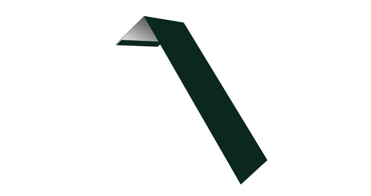 Планка лобовая/околооконная простая 190х50 0,45 PE с пленкой RAL 6005