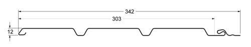 classic chertezh - Софит Grand Line Классика Коричневый без перфорации
